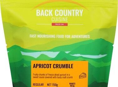 Back Country Apricot Crumble