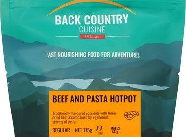 Back Country Beef and Pasta Hotpot