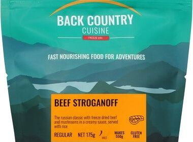 Back Country Beef Stroganoff