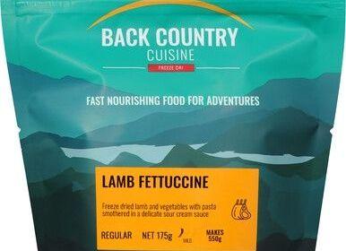 Back Country Lamb Fettuccine