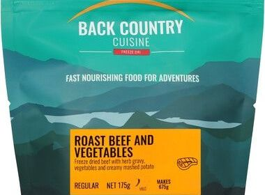 Back Country Beef and Vegetables